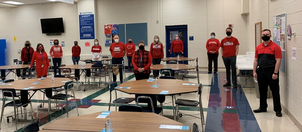 NMS Wear Red Day to show support for heart disease