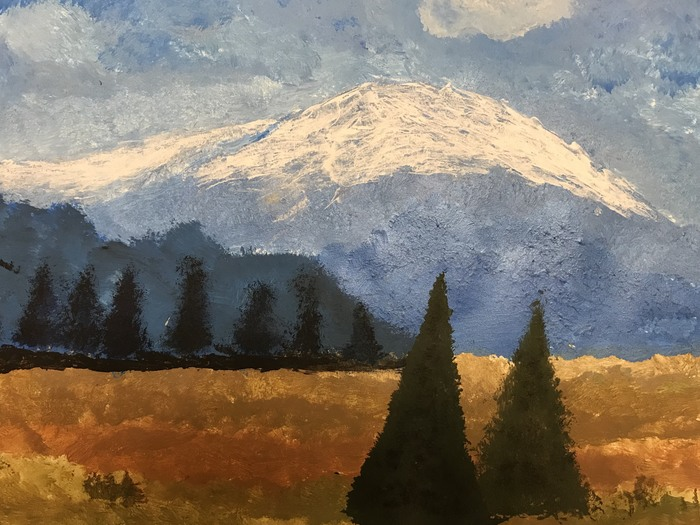 8th Grade Landscape Painting