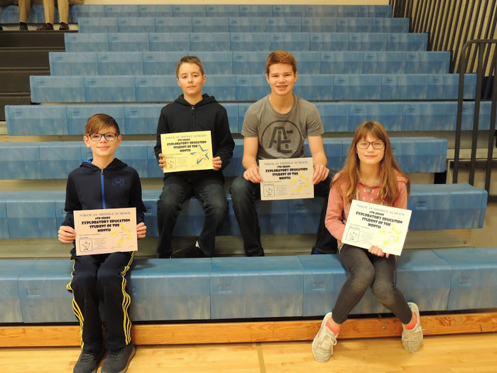 Exploratory Students of the Month