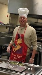 Mr. Holt, National School Lunch Week