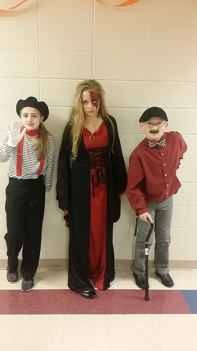 3 Best Costumes at NMS Halloween Dance