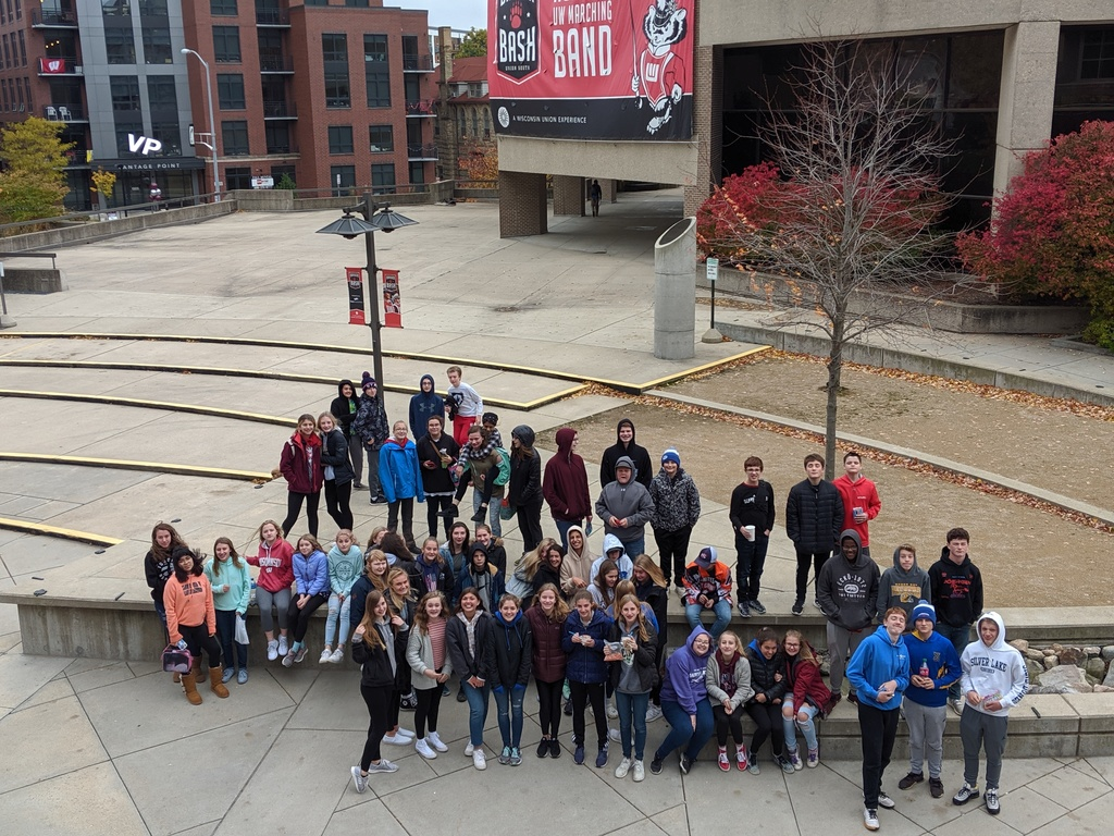 Grade 8 trip to UW Madison