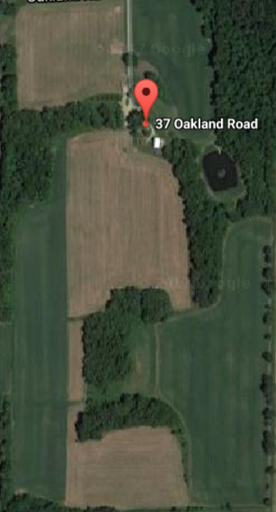 Google Maps view of 37 Oakland Rd.